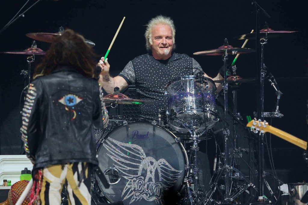 Watch Aerosmith Reunite With Drummer Joey Kramer Onstage in Las Vegas