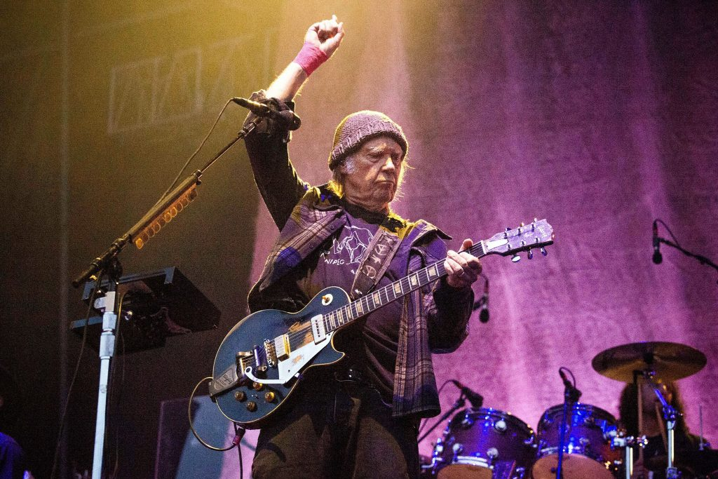Neil Young Nixes Future Touring Plans: 'I Am Not Focused on Playing'