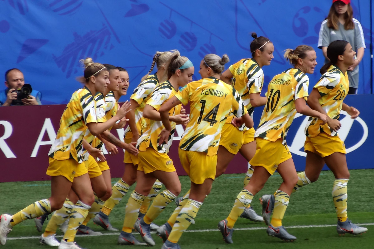 'Australie Team (Women World Cup France 2019)' by Liondartois