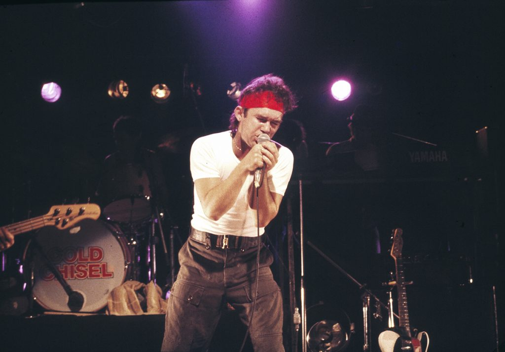 Cold Chisel performing live