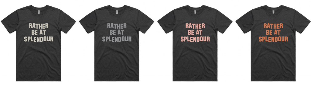 Image of the limited Splendour In The Grass shirts