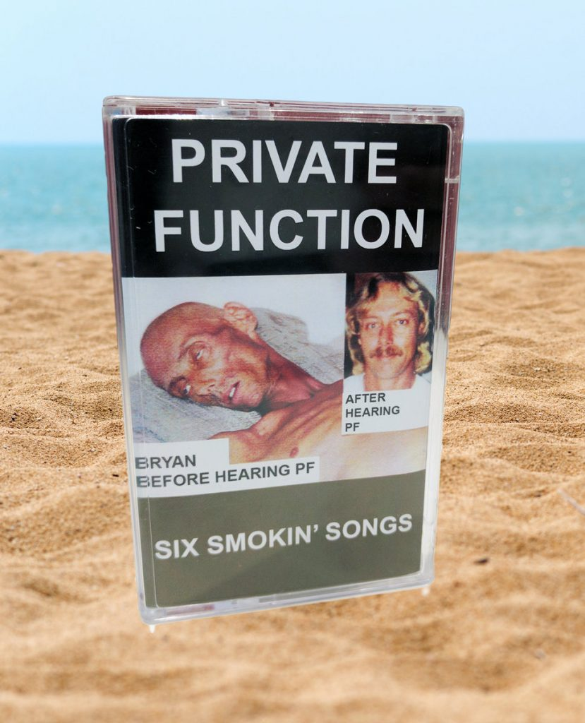 Image of 'Six Smokin' Songs' by Private Function