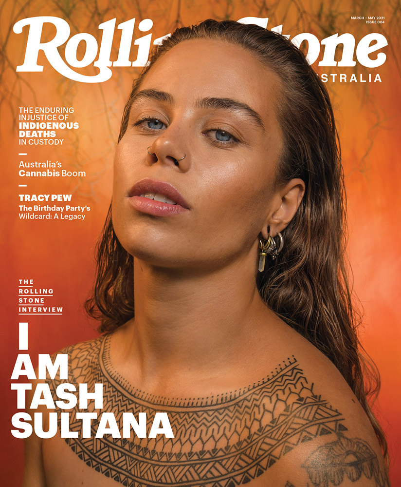 The new issue of Rolling Stone Australia, featuring Tash Sultana on the cover.