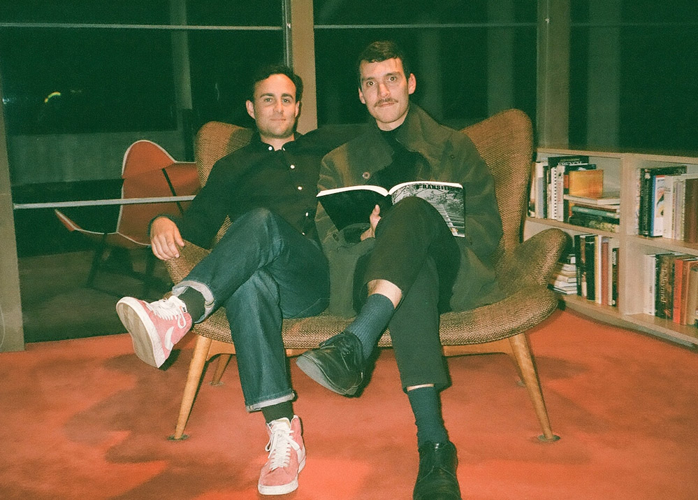 Image of ambient artists Sean La'Brooy and Alex Albrecht