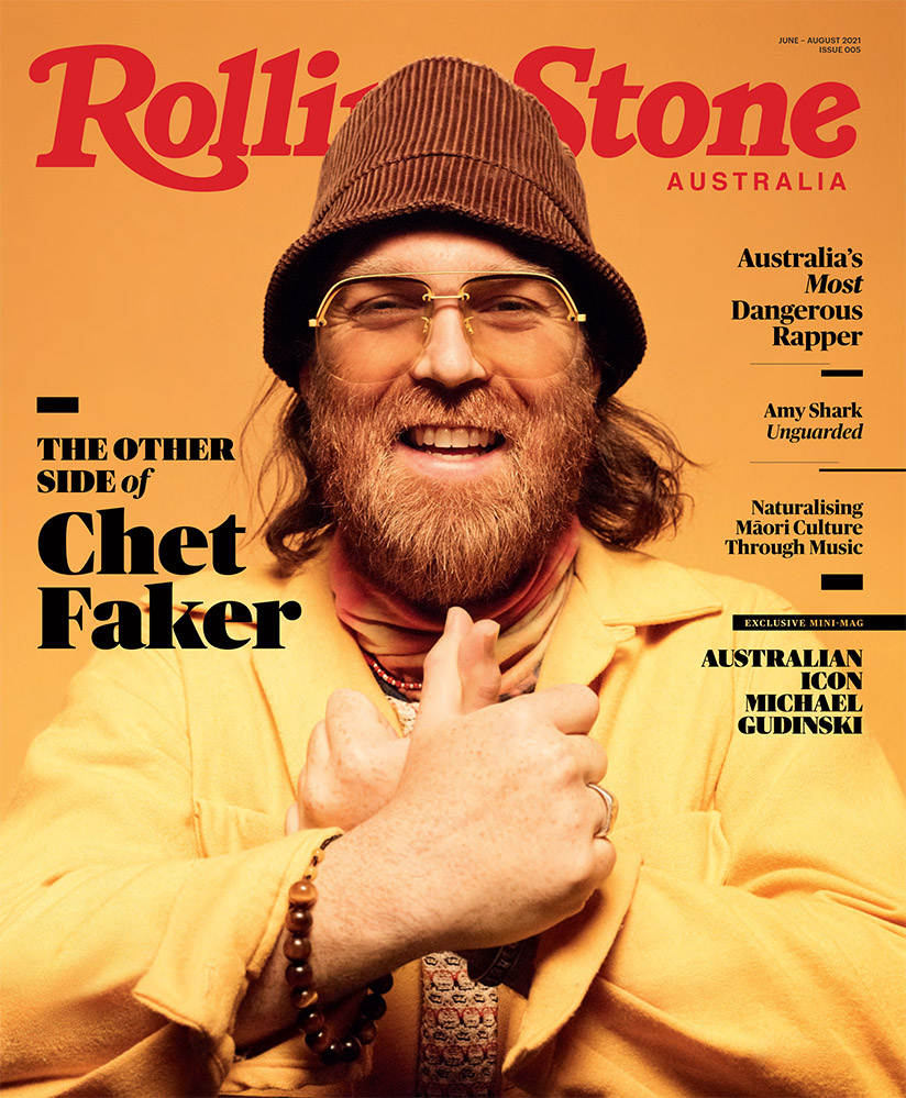 Chet Faker on the cover of Rolling Stone